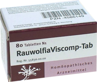 RAUWOLFIAVISCOMP TAB Tabletten